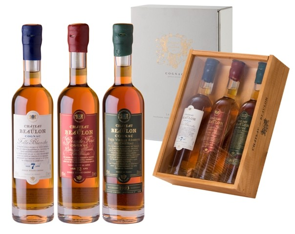 TRIADINE Set 3x0.2L, Chateau de Beaulon, Cognac - Триадин