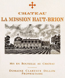 La Mission Haut-Brion 2010 2009 2008 2006 2005 / Шато Ля Миссьон О Брион (цена)