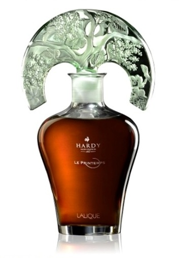 Весна - коньяк Арди в декантере Лалик \ Le Printemps - Hardy cognac in Lalique decanter