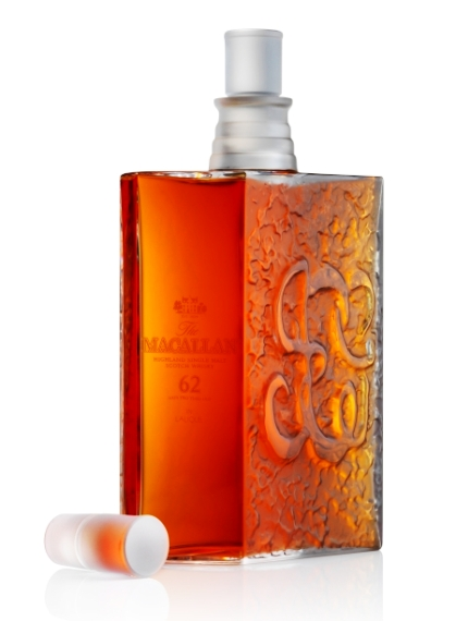 Макаллан 62 года в хрустале Лалик l macallan 62 years in lalique